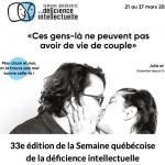Lancement de la 33e édition de la Semaine québécoise de la déficience intellectuelle